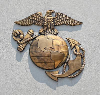 Marine Corps Logo Art Print by Dave Mills