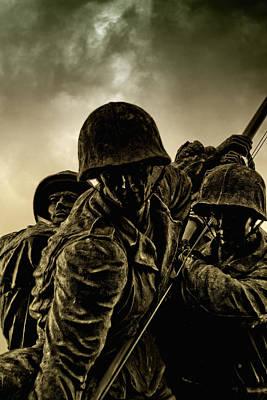 Marine Corps Memorial Original by Chris Bhulai