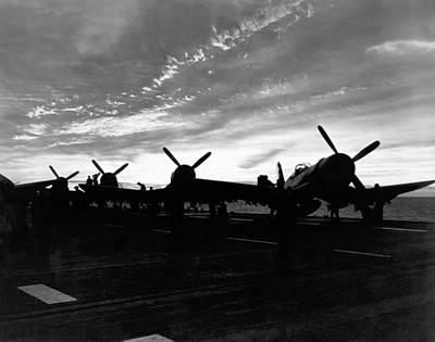 Marine Corsair F4us Art Print