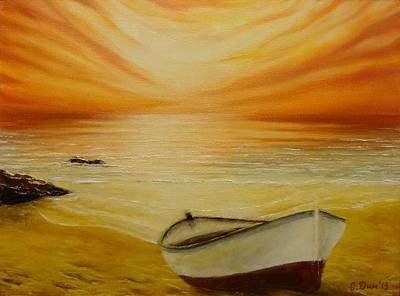 Marine Memorial Art Print by Svetla Dimitrova