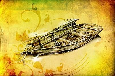 Historic Schooner Digital Art - Marine Sea 11 by Rafal Kulik