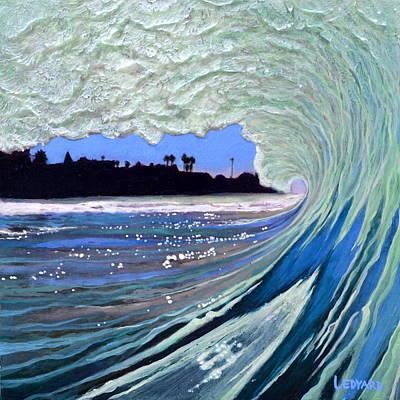 Surf Painting - Marine Street by Nathan Ledyard