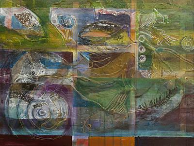Painting - Marine Symphony by Jillian Goldberg
