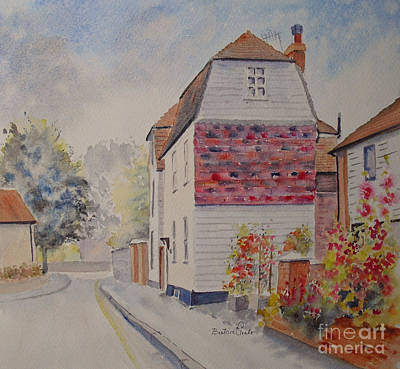 Painting - Marine Walk Street Hythe by Beatrice Cloake