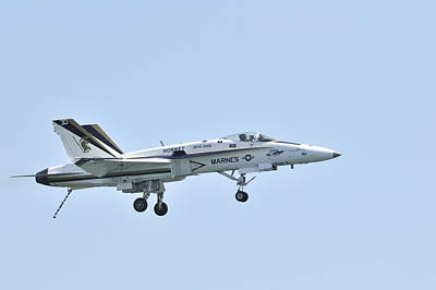 Photograph - Marines F/a-18 Hornet Fighter Jet by Bradford Martin