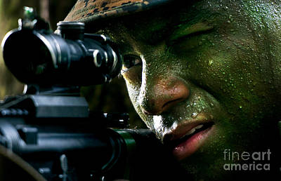 Recon Photograph - Marines by Paul Fearn