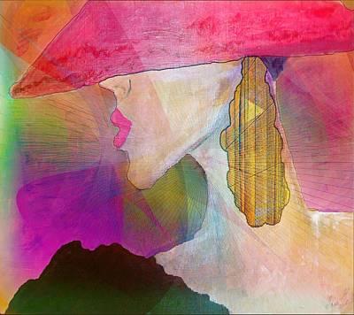 Painting - Marion by Iris Gelbart