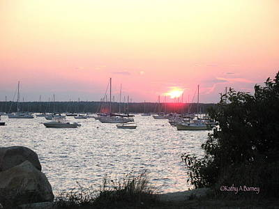 Photograph - Marion Massachusetts Bay by Kathy Barney