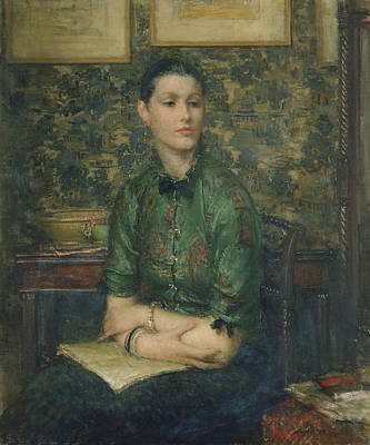 Bangles Painting - Marion by Sir Walter Russell