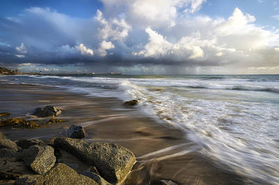 High Tide Photograph - Mariposa by Sean Foster