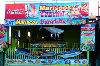 Photograph - Mariscos by Dick Botkin