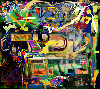 Creative Renewal Digital Art - Marital Harmony 61 by David Baruch Wolk