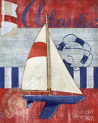 Maritime Boat I Art Print by Paul Brent