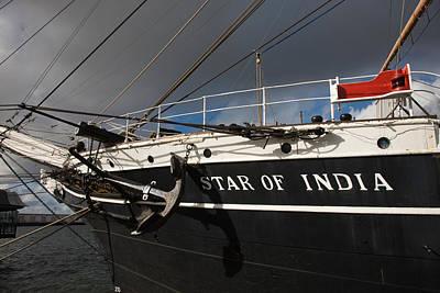 Maritime Museum On A Ship, Star Art Print