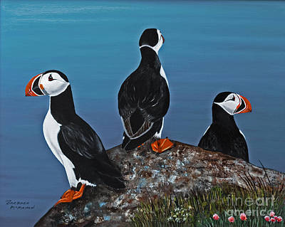 Painting - Maritime Trio by Barbara McMahon