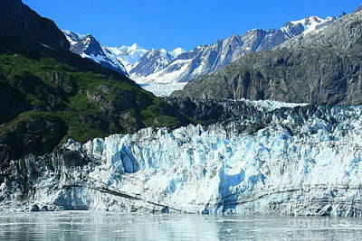 Photograph - Marjerie Glacier by Frank Townsley