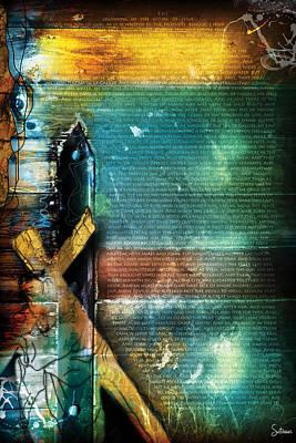 Crucify Digital Art Digital Art - Mark 1 by Switchvues Design