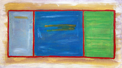 Painting - Mark Rothko Flying Sw by Kevin Callahan