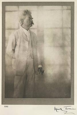 Mark Twain Art Print by British Library