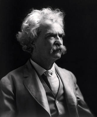 Mark Twain  Art Print by Daniel Hagerman