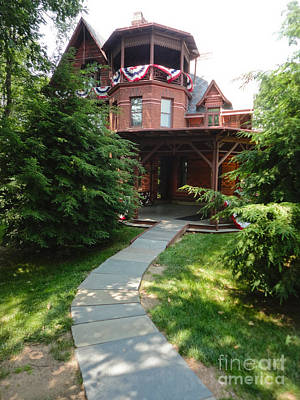 Photograph - Mark Twain House by Gregory Dyer