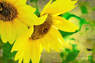 Photograph - Mark Twain's Sunflowers by Luther Fine Art