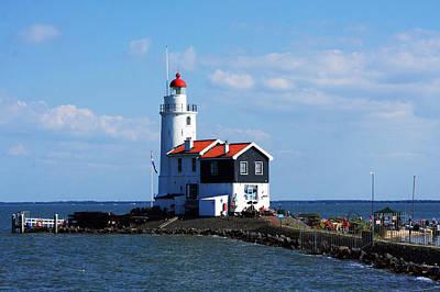 Photograph - Marken Lighthouse by Aidan Moran