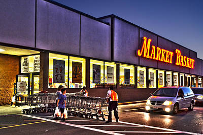Photograph - Market Basket Somerville Ma by Toby McGuire