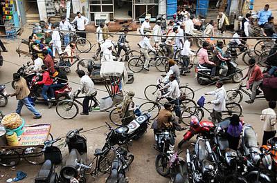 Photograph - Market Clutter by Money Sharma