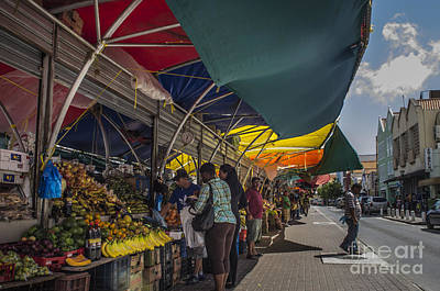 Photograph - Market Day by Louise Magno
