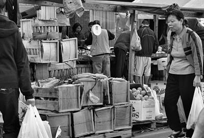 Photograph - Market Day by Nadalyn Larsen
