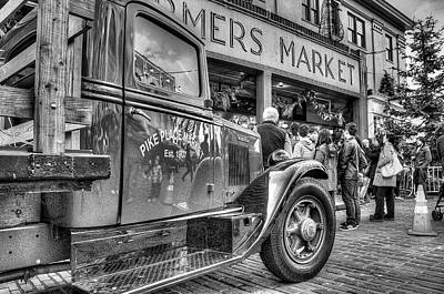 Photograph - Pike Place Delivery Truck by Spencer McDonald