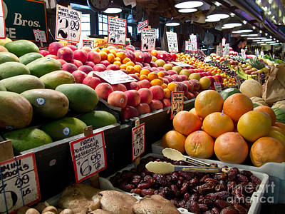 Market Fresh Art Print by Arlene Carmel