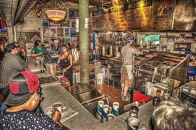 Photograph - Market Grill by Spencer McDonald