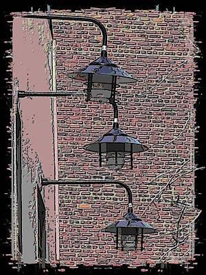 Market Lights Art Print by Tim Allen