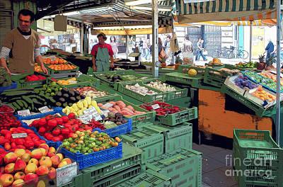 Photograph - Market Place by Jutta Maria Pusl