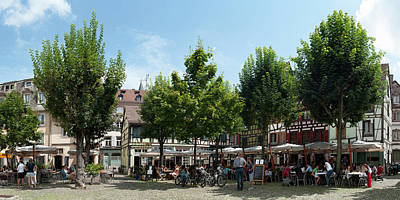 Alsace Photograph - Market Place, Place Du Marche Gayot by Panoramic Images
