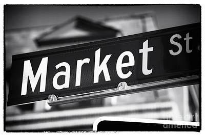 Photograph - Market St by John Rizzuto