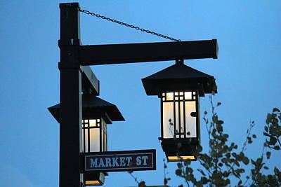 Photograph - Market St. by Trent Mallett