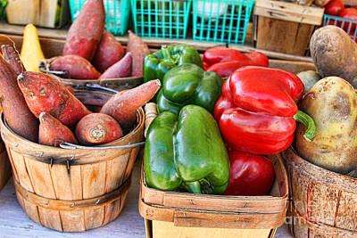 Photograph - Market Vegetables By Diana Sainz by Diana Raquel Sainz