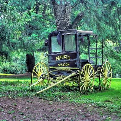 Photograph - Market Wagon by Gordon Elwell