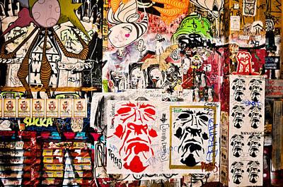Photograph - Market Wall by Ronda Broatch