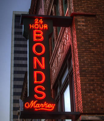 Photograph - Markey Neon by Michael Colgate
