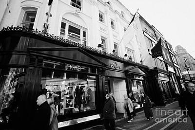 Marks And Spencer Flagship Store Grafton Street Dublin Republic Of Ireland Art Print by Joe Fox