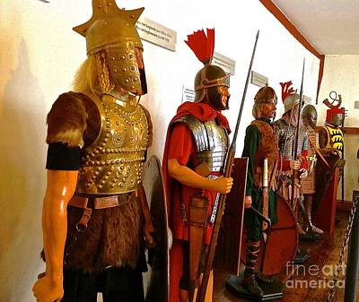 Photograph - Marksburg Castle Armor Samples by John Potts