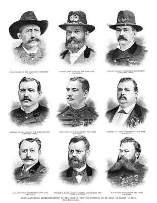 Stein Painting - Marksmen, 1890 by Granger