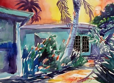 Marla's Beach House Art Print