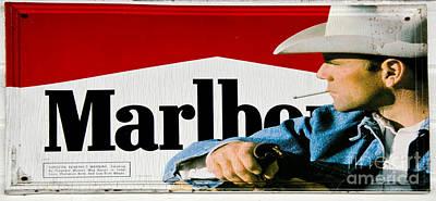 Marlboro Man Art Print by Paul Mashburn