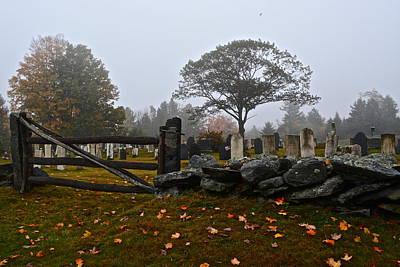 Photograph - Marlboro Vermont Cemetery by Tana Reiff