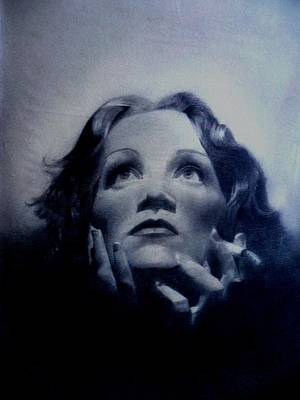 Drawing - Marlene by Derrick Parsons